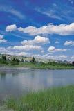 mały rzeki Missouri Zdjęcie Stock