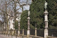 Mały Sablon kwadrat w Bruksela, Belgia. Obraz Royalty Free