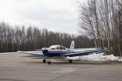mały samolot Obraz Royalty Free