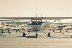 mały samolot Fotografia Royalty Free