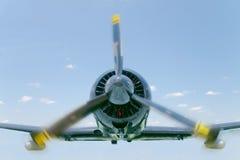 Mały samolot w locie Fotografia Royalty Free