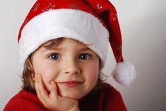 mały Santa claus zdjęcia royalty free