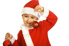 mały Santa claus Obraz Stock
