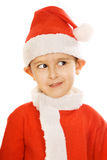 mały Santa claus Fotografia Royalty Free