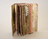 Mały scrapbooking album fotograficzny Fotografia Stock