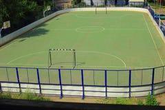 Mały sporta boisko Obrazy Royalty Free