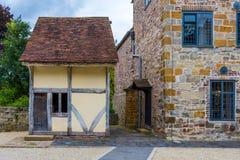 mały stary dom Fotografia Royalty Free