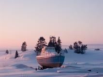 mały statek zdjęcia royalty free