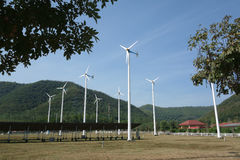 mały turbiny wiatr Obrazy Royalty Free