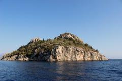 mały wyspa na Morzu Egejskim morze Fotografia Royalty Free
