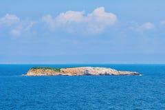 mały wyspy morze Zdjęcia Stock