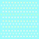 Małych gwiazd patern polkastars Obraz Royalty Free