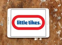 Małych Tikes wytwórcy zabawkarski logo Fotografia Stock