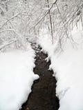 mała zatoczki zima Zdjęcia Stock