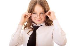 Mała biznesowa dziewczyna Fotografia Stock