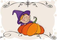 mała czarownica Fotografia Royalty Free