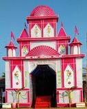 Maa Durga świątynia fotografia stock