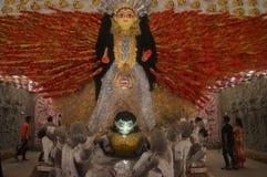 Maa Durga photographie stock libre de droits