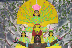 Maa Durga Fotografie Stock Libere da Diritti