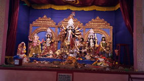 Maa Durga Στοκ εικόνα με δικαίωμα ελεύθερης χρήσης