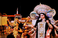 Maa Durga stockfotografie