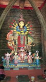 Maa Durga fotografia stock