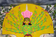 Maa Durga. Biggest festival in India. Durga puja. This is at kolkata Royalty Free Stock Images