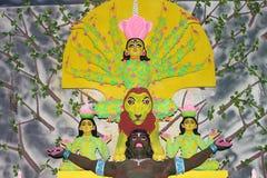 Maa Durga. Biggest festival in India. Durga puja. This is at kolkata Royalty Free Stock Photos
