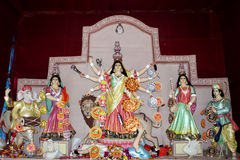 Maa Durga. Biggest festival in India. Durga puja. This is at kolkata Royalty Free Stock Image
