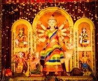 Maa Durga Idol fotos de archivo