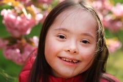 Mała dziewczynka zabawę Fotografia Stock