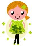 Mała śliczna czerwona włosiana dziewczyna Zdjęcie Stock