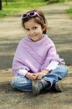 mała mody dziewczyna Zdjęcia Royalty Free