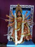 Maa vaishnac devi Stock Photo