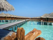 Maafushivaru island - Maldives Royalty Free Stock Images