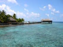 Maafushivaru island - Maldives. The small island of Maafushivaru in the Maldives Stock Image