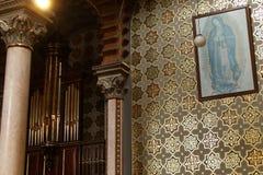 Maagdelijk Maria in Kapel van Lord Heilige Jose, Leon, Guanajuato stock afbeeldingen