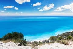 Maagdelijk strand Stock Afbeelding