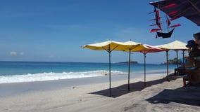 Maagdelijk Strand Baii Stock Afbeelding
