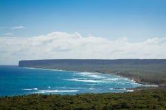 Maagdelijke Caraïbische kust in Dominicaanse Republiek Royalty-vrije Stock Afbeeldingen
