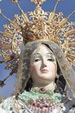 Maagdelijke del Rosario in Torrejon DE Ardoz Stock Foto's