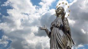 Maagdelijke Mary stock footage