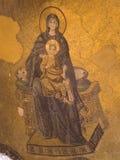 Maagdelijke Mary en baby Jesus Royalty-vrije Stock Fotografie