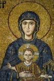 Maagdelijke Mary en het kind Royalty-vrije Stock Foto