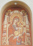Maagdelijke Mary met Jesus Stock Foto