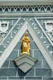 Maagdelijke Mary ziet uit op de kerk van Christus Royalty-vrije Stock Foto