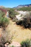 Maagdelijke Rivier Arizona Stock Foto's