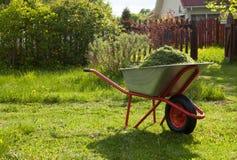 Maai het gras stock afbeelding