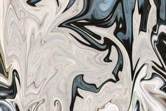 Maak Abstract Patroon met Groen, Zwart, en Grey Graphics Color Art Form vloeibaar Digitale Achtergrond met het Vloeibaar maken St vector illustratie