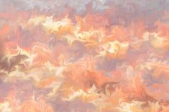 Maak Abstract Patroon met Roze, LightSalmon, Lichtrose en Coral Graphics Color Art Form vloeibaar Digitale Achtergrond met het Vl vector illustratie